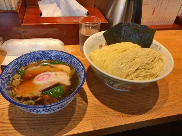 【神田勝本】つけ麺の麺はもちろんスープ割が最高!女性にも大人気!