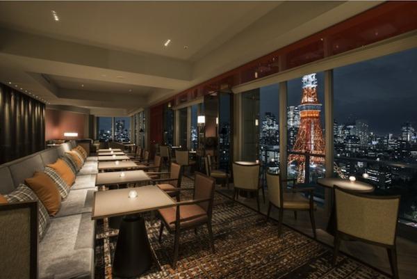 ザ・プリンスパークタワー東京からの夜景